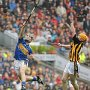 GAA sporting action.